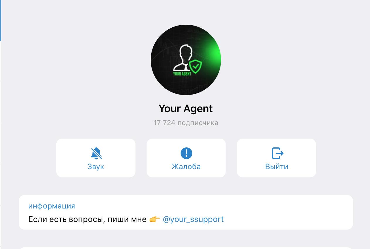 Превью Your Agent