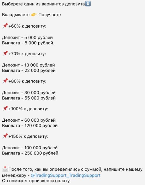 цены Excoin bot